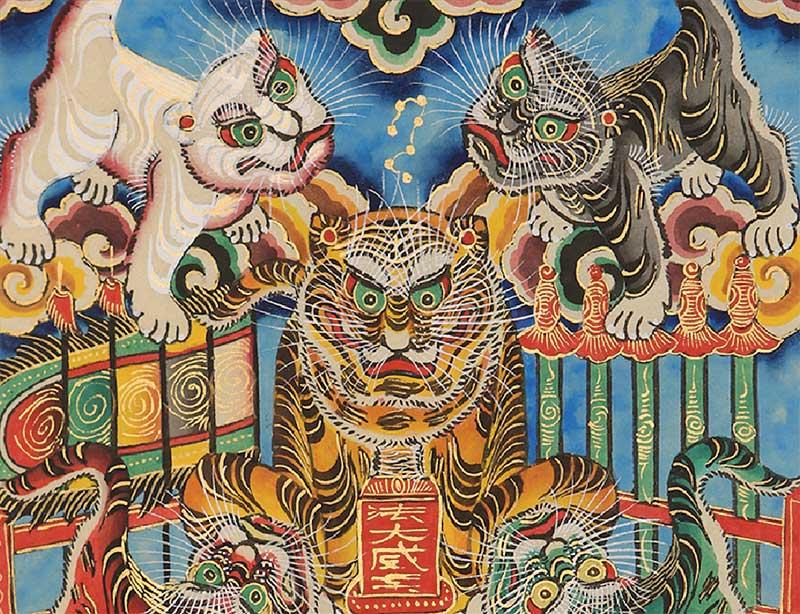 peinture vietnamienne Ngu Ho