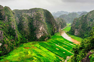 Pays des formations calcaires, Ninh Binh